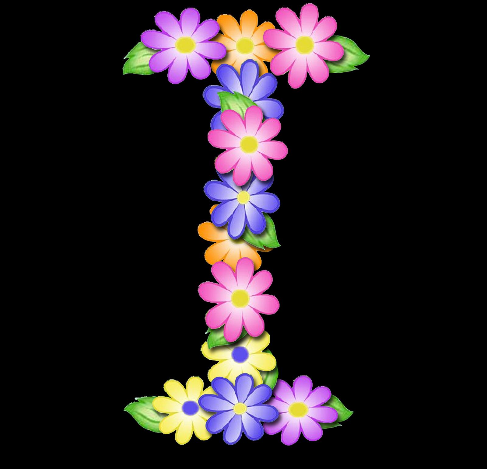 صور الحروف الإنجليزية بأجمل الزهور والورود بخلفية شفافة بنج png وجودة عالية للمصممين :: إبحث عن حروف إسمك بالإنجليزية I