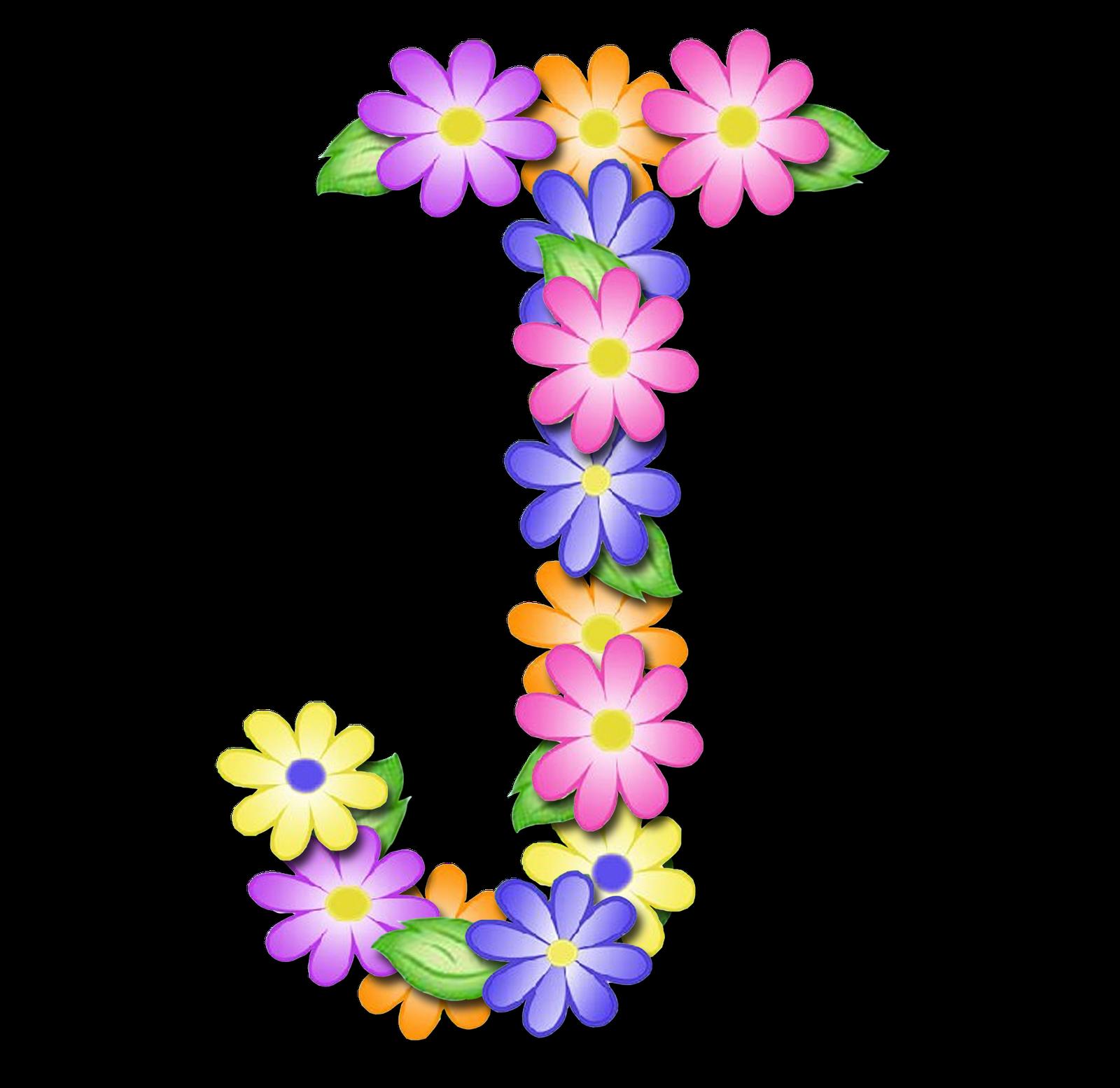 صور الحروف الإنجليزية بأجمل الزهور والورود بخلفية شفافة بنج png وجودة عالية للمصممين :: إبحث عن حروف إسمك بالإنجليزية J