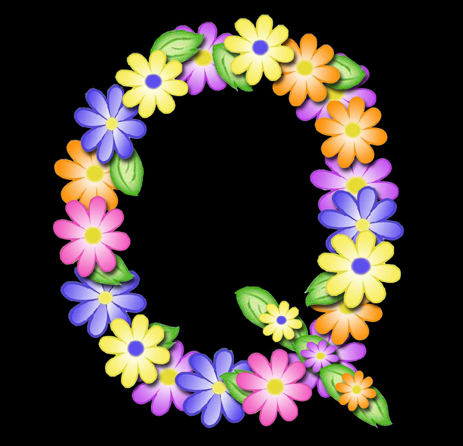 صور الحروف الإنجليزية بأجمل الزهور والورود بخلفية شفافة بنج png وجودة عالية للمصممين :: إبحث عن حروف إسمك بالإنجليزية - صفحة 2 Q